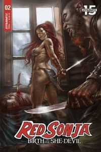 Red Sonja Birth of She Devil #2 CVR A Parrillo