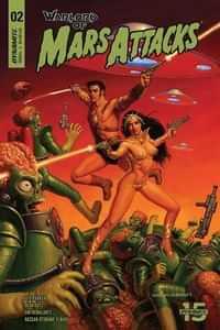 Warlord of Mars Attacks #2 CVR A Hildebrandt