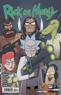 Rick and Morty #58 CVR A Ellerby