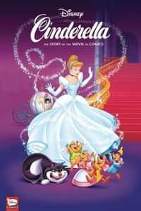 Disney Cinderella HC Story of Movies in Comics