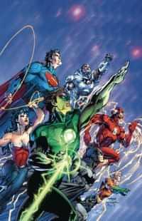 Justice League HC Origin Deluxe Edition