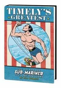 Timelys Sub-mariner Everett Post-war HC Omnibus Edition DM CVR