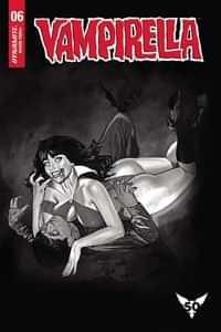 Vampirella #6 Variant 20 Copy Dalton BW