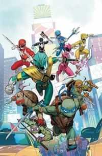 Power Rangers Teenage Mutant Ninja Turtles #1 CVR A Mora