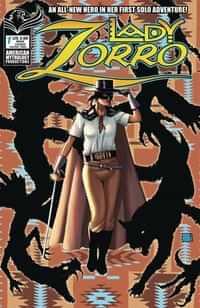 Lady Zorro #1 CVR A Wolfer