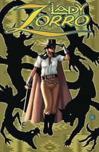 Lady Zorro #1 Variant Limited Edition Pulp