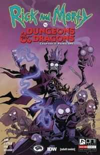 Rick and Morty Vs Dungeons and Dragons II Painscape #4 CVR A Little
