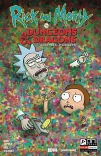 Rick and Morty Vs Dungeons and Dragons II Painscape #4 CVR B Wells