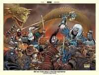 Usagi Yojimbo Poster Ragnarok Jam Poster Signed