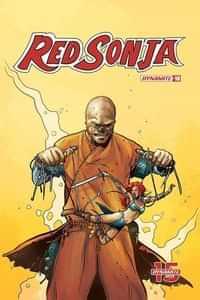 Red Sonja #10 CVR D Colak