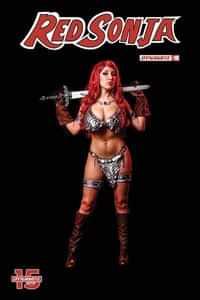 Red Sonja #10 CVR E Cosplay