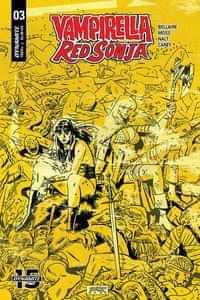 Vampirella Red Sonja #3 CVR D Romero and Bellaire
