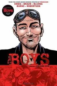 Boys TP Omnibus Edition Robertson Signed