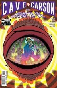 Cave Carson Has a Cybernetic Eye #4 CVR A