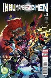 Inhumans Vs X-Men #3