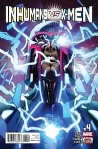 Inhumans Vs X-Men #4