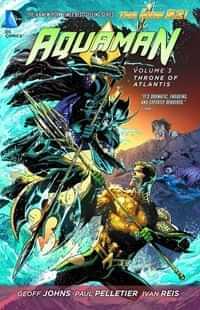 Aquaman TP New 52 Throne of Atlantis