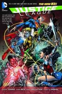 Justice League TP New 52 Throne of Atlantis