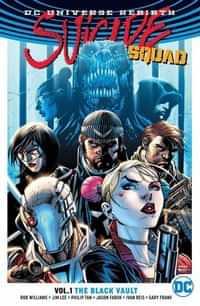 Suicide Squad TP Rebirth Black Vault