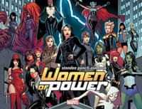 Marvel Women of Power Standee Punch Out Book