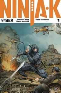 Ninja-K #1 Variant 20 Copy
