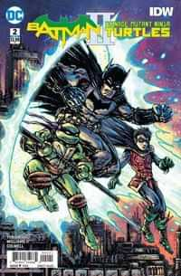 Batman Teenage Mutant Ninja Turtles II #2 CVR B