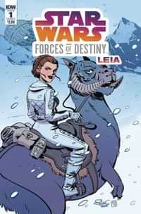 Star Wars Adventures Forces of Destiny Leia CVR A