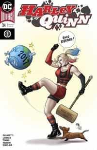 Harley Quinn #34 CVR B