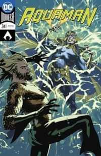 Aquaman #34 CVR B