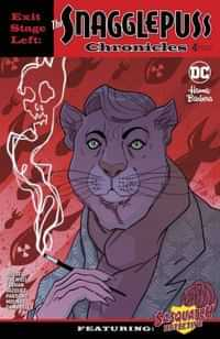 Exit Stage Left The Snagglepuss Chronicles #4 CVR B