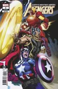 Avengers #1 Second Printing