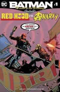 Batman Prelude To The Wedding Red Hood Vs Anarky