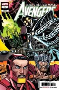 Avengers #1 Fourth Printing