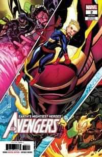 Avengers #2 Fourth Printing