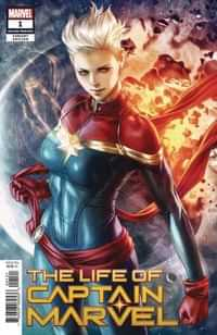 Life of Captain Marvel #1 Second Printing