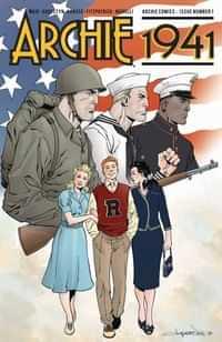 Archie 1941 #1 CVR E Lopresti