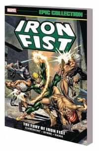 Iron Fist TP Epic Collection Fury of Iron Fist