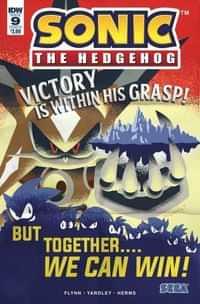Sonic the Hedgehog #9 CVR B Yardley