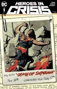 Heroes in Crisis #1 CVR B