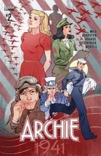 Archie 1941 #2 CVR C Sauvage