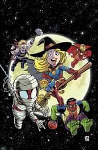 Marvel Super Hero Adventures Captain Marvel Halloween Spooktacular