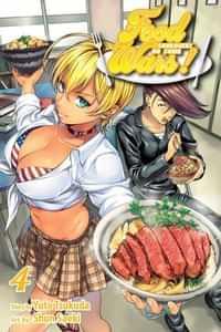 Food Wars Shokugeki No Soma GN V4