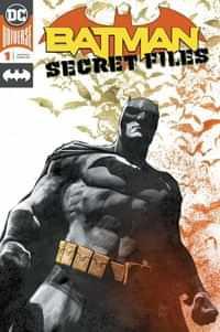 Batman Secret Files 2018 Foil