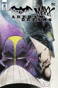 Batman the Maxx Arkham Dreams #2 CVR A
