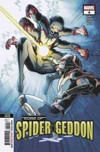 Edge of Spider-Geddon #4 Second Printing