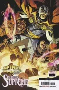 Infinity Wars Soldier Supreme #1 Second Printing