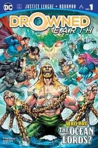 Justice League Aquaman Drowned Earth CVR A