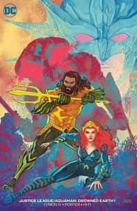 Justice League Aquaman Drowned Earth CVR B