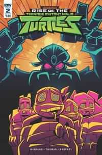Rise of The TMNT #2