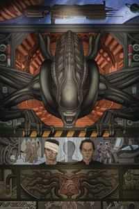 William Gibson Alien 3 #1 CVR B Rivera